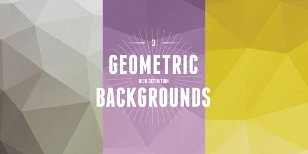 3 GEOMETRIC BACKGROUNDS