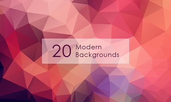 Freebie: 20 Hi-Res Modern Backgrounds