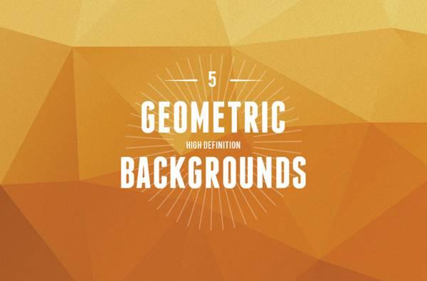 5 GEOMETRIC BACKGROUNDS