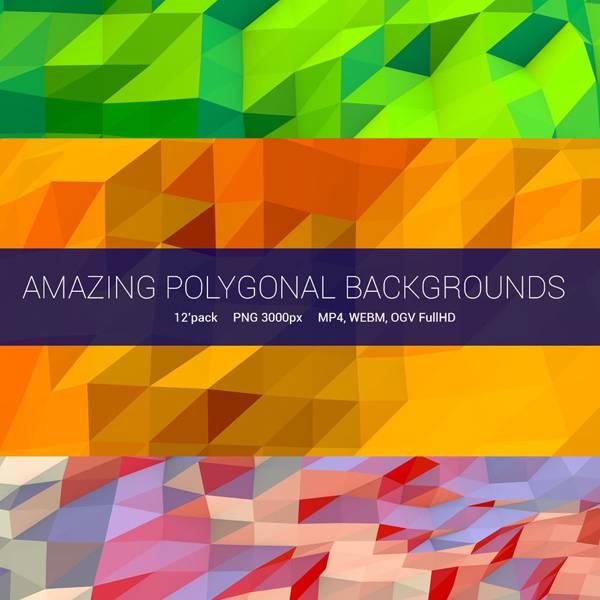 Amazing Poligonal Backgrounds