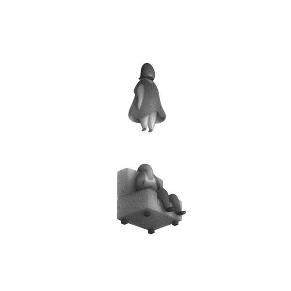 不思議な世界観を描く Mike Lee のイラストスケッチ作品 - 03