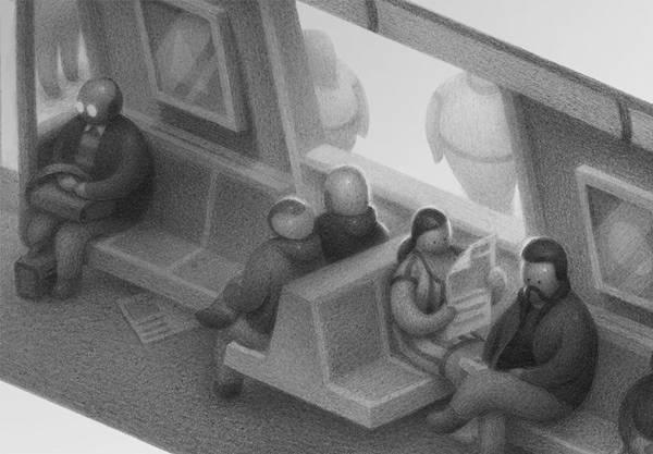 不思議な世界観を描く Mike Lee のイラストスケッチ作品 - 04