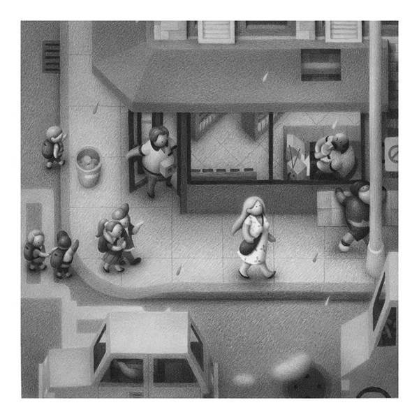 不思議な世界観を描く Mike Lee のイラストスケッチ作品 - 05