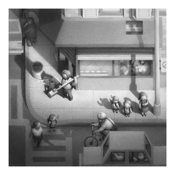不思議な世界観を描く Mike Lee のイラストスケッチ作品 - 06