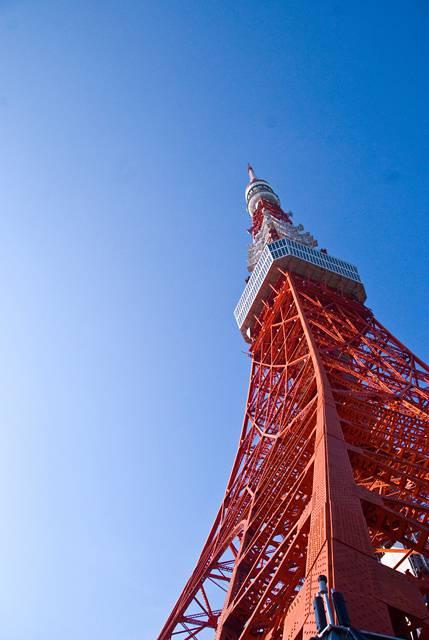 東京タワーのフリー写真素材