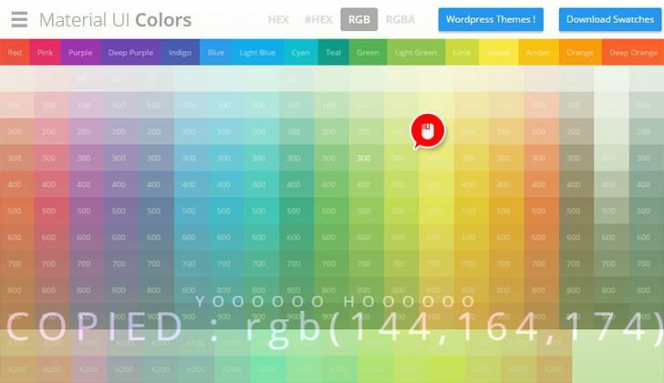 Material UI Colors - 03