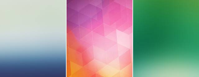 【iPhone6/Plus壁紙】シンプルで綺麗!アイコンも見やすいブラー系画像集