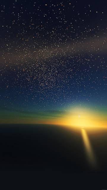 ma35-stars-shine-horizon-space-sky-nature