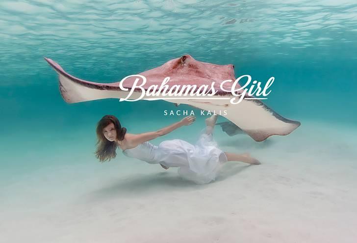 世界でいちばん人魚に近い少女、サシャ・カリス