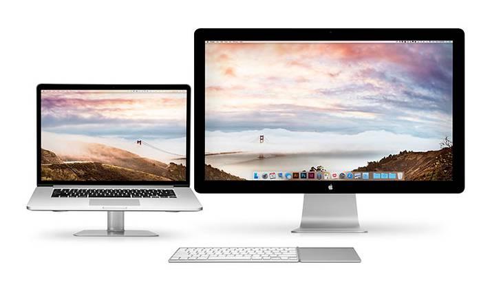 Appleのデュアルスクリーン環境専用!おしゃれデスクトップが作れる無料壁紙 - 01