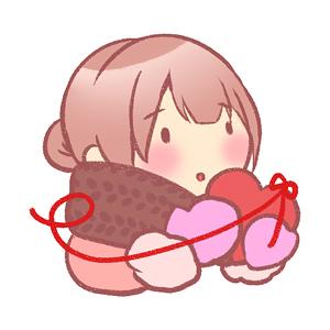 バレンタイン_繋がり1のイラスト