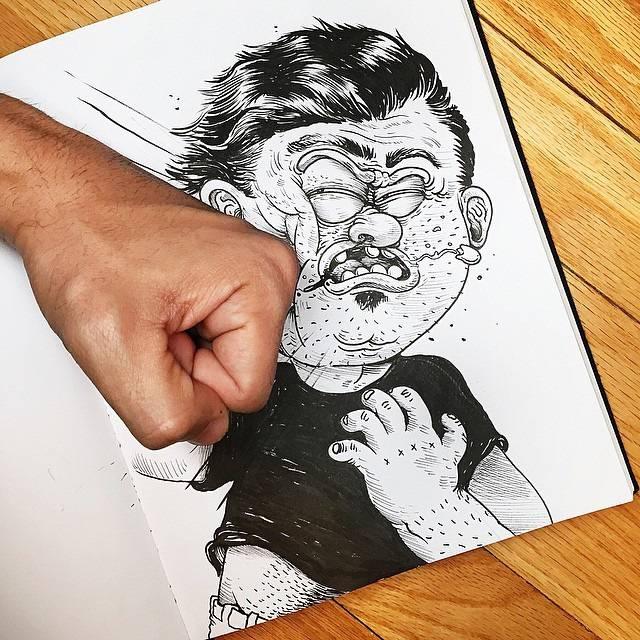 世界が注目!「絵と遊ぶ」イラストレーター - 02