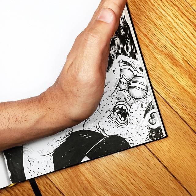世界が注目!「絵と遊ぶ」イラストレーター - 03