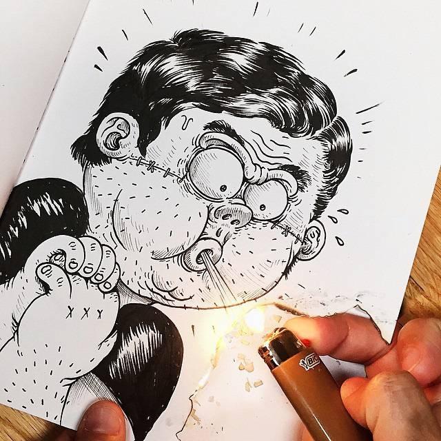 世界が注目!「絵と遊ぶ」イラストレーター - 04