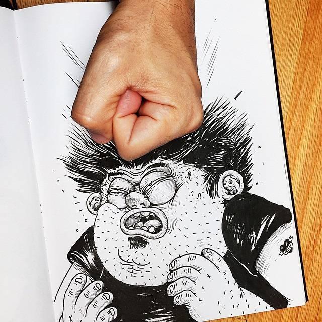 世界が注目!「絵と遊ぶ」イラストレーター - 05