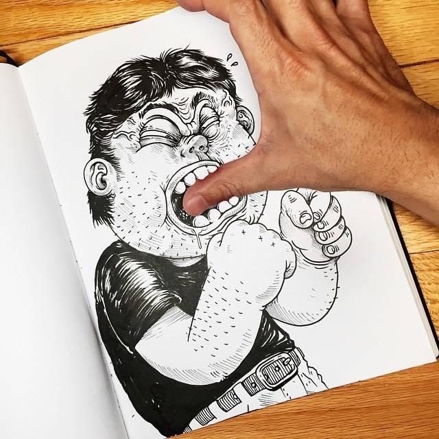 世界が注目!「絵と遊ぶ」イラストレーター - 06