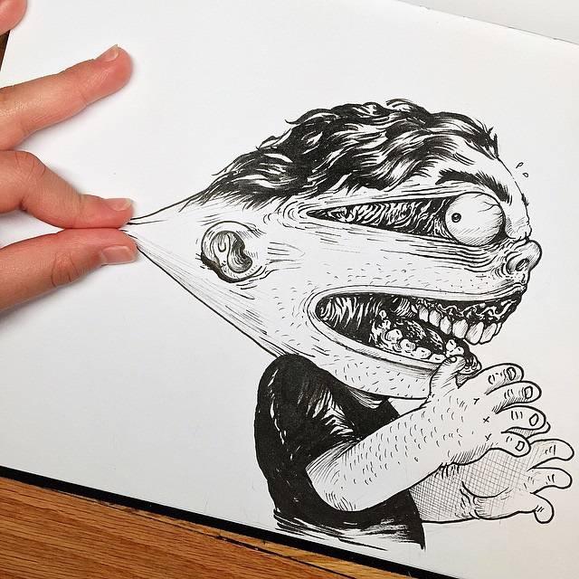 世界が注目!「絵と遊ぶ」イラストレーター - 07