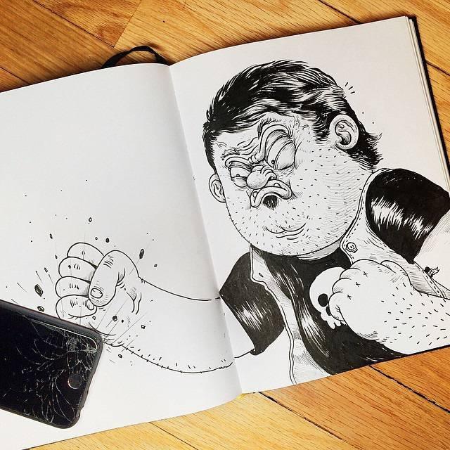 世界が注目!「絵と遊ぶ」イラストレーター - 08