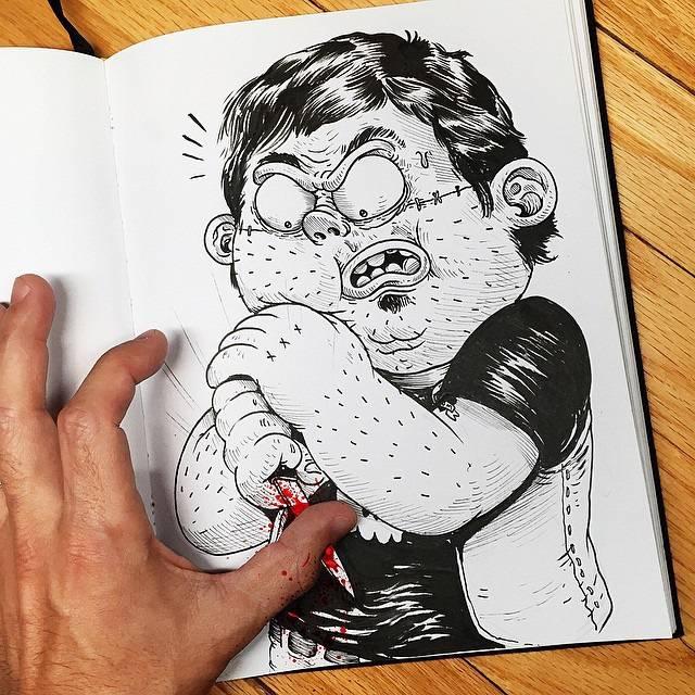 世界が注目!「絵と遊ぶ」イラストレーター - 09