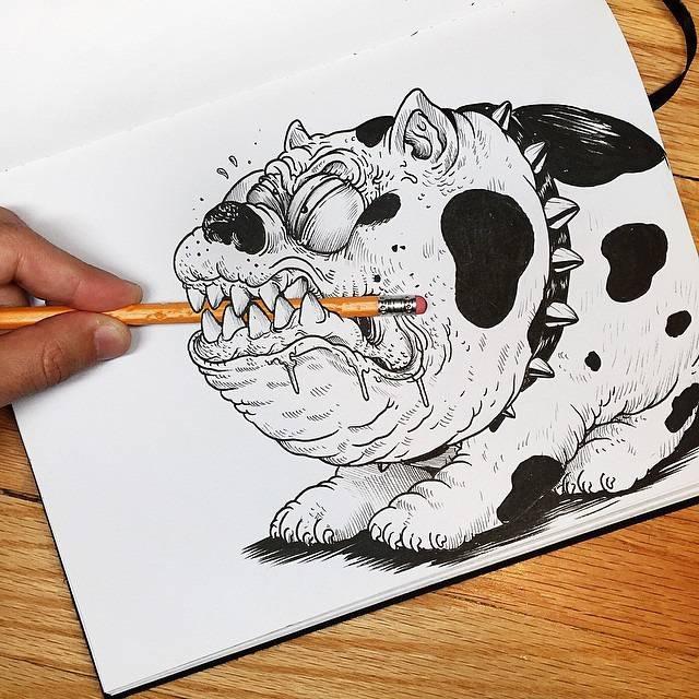 世界が注目!「絵と遊ぶ」イラストレーター - 10