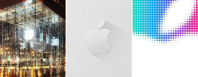 【iPhone6/Plus壁紙】Appleロゴのシンプルで綺麗な画像まとめ