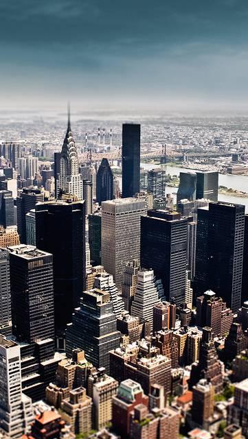 ニューヨークのかっこいい街並み