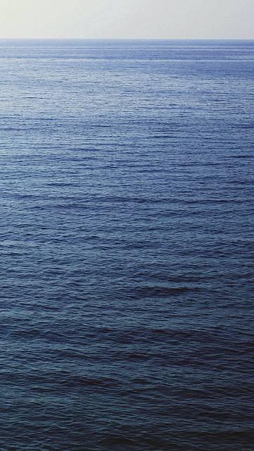 一面の海の綺麗な写真壁紙