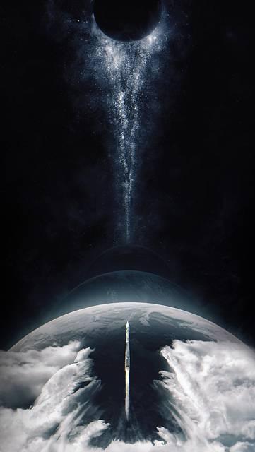 ロケットと宇宙のカッコイイ画像
