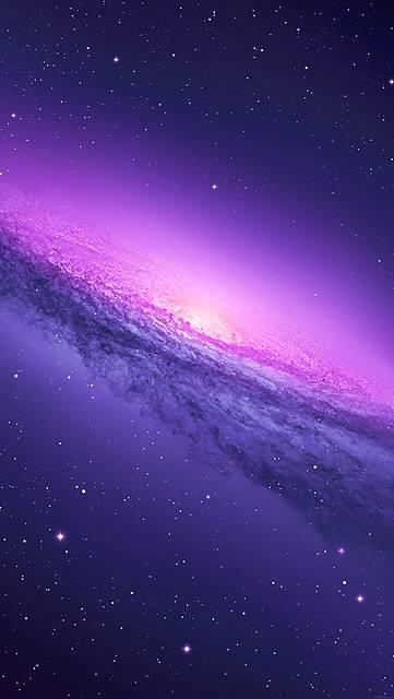 銀河系の美しい写真画像