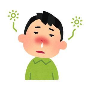 花粉症 フリーイラスト に対する画像結果