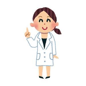 女医・薬剤師のイラスト(職業)