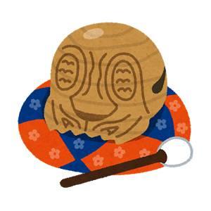 木魚のイラスト