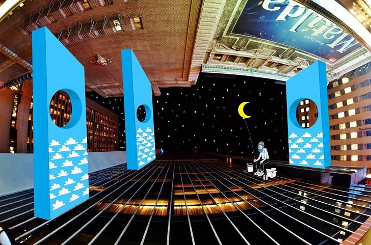建物の隙間の空がキャンバスに!新しい視点で生み出すイラスト・アート作品 - 09