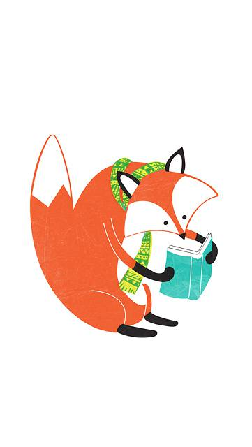 Fox Who Reads