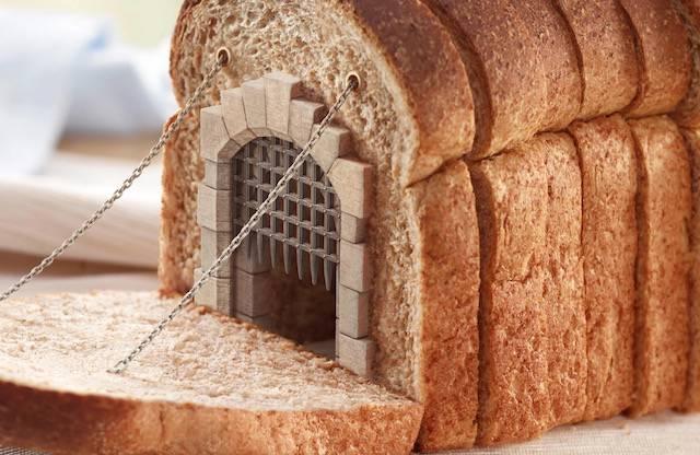 パンのお城。