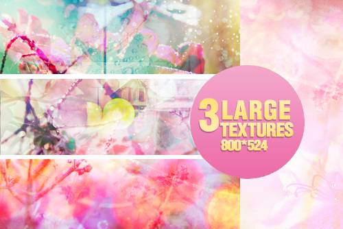 3 Large textures - 1203