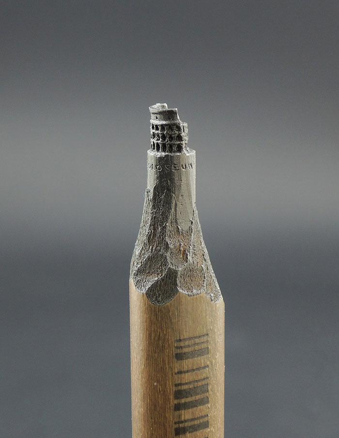 鉛筆の芯で作る超極小の彫刻作品シリーズ - 05