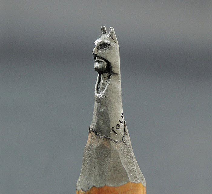 鉛筆の芯で作る超極小の彫刻作品シリーズ - 06