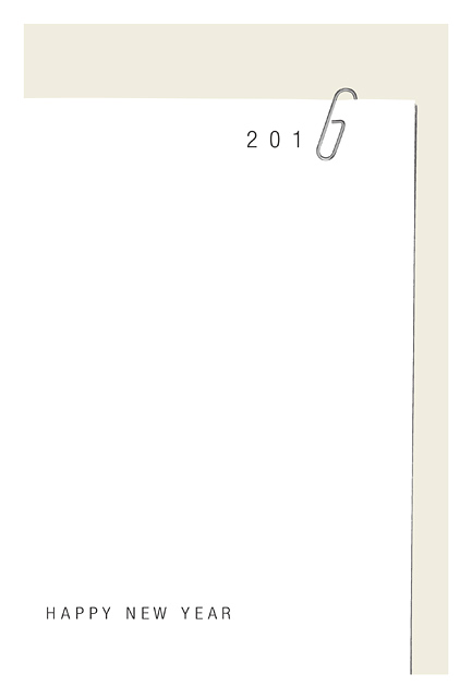 年賀状 2016 No.16: Clipped 2016